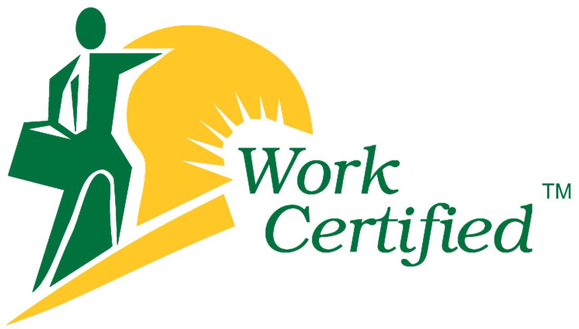work certified logo